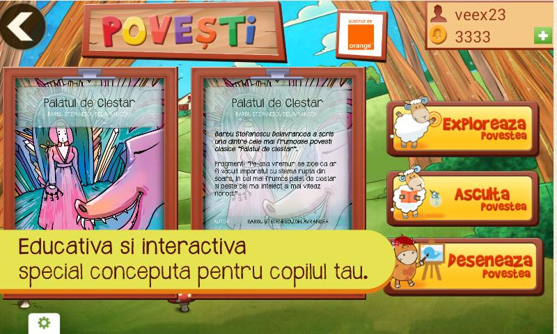 Povesti- screenshot