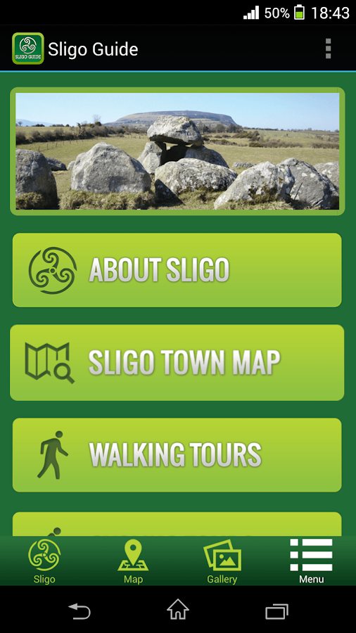 Sligo Guide- screenshot