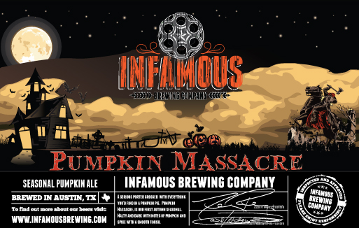 Logo of Infamous Pumpkin Massacre
