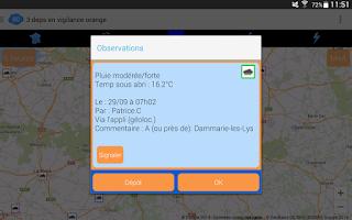 Screenshot of Meteo60