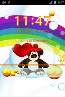GO Locker Cute Teddy Bear - screenshot thumbnail