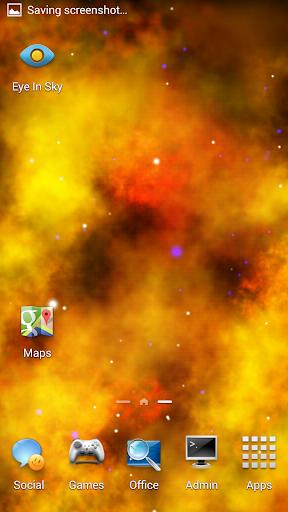화재 성운 라이브 배경 화면