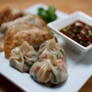 Perfect Fried or Steamed Veggie Dumplings.