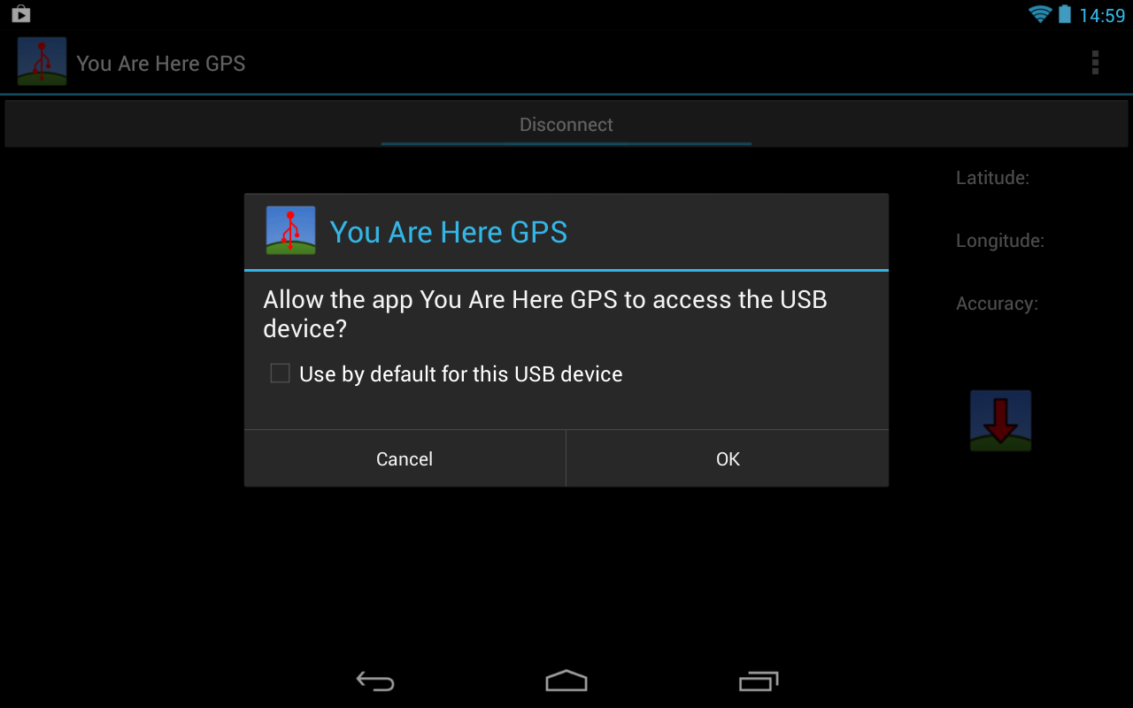 You Are Here GPS - screenshot