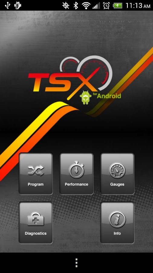 TSX - screenshot