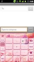 Screenshot of GO Keyboard Painted fish theme