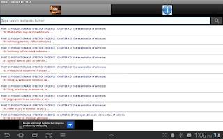 Screenshot of Indian Evidence Act 1872