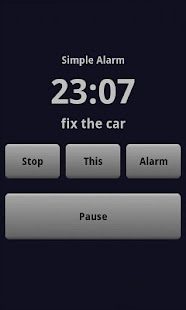 Simple Alarm Clock - screenshot thumbnail