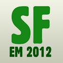 SvenskaFans EM 2012 EURO logo