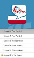 Screenshot of L-Lingo Learn Polish