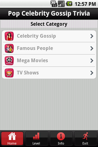 Celebrity Gossip Trivia - screenshot