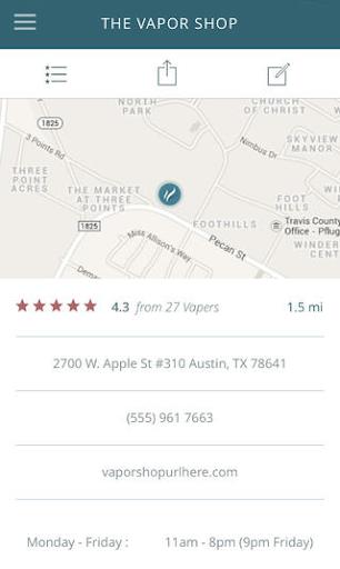 VapeSlate Vape Store Locator