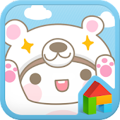 Baby Bear dodol launcher theme