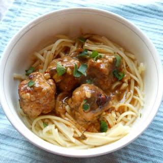 Turkey-Parmesan Meatballs.