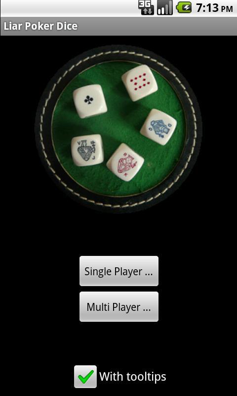Liar Poker Dice - screenshot
