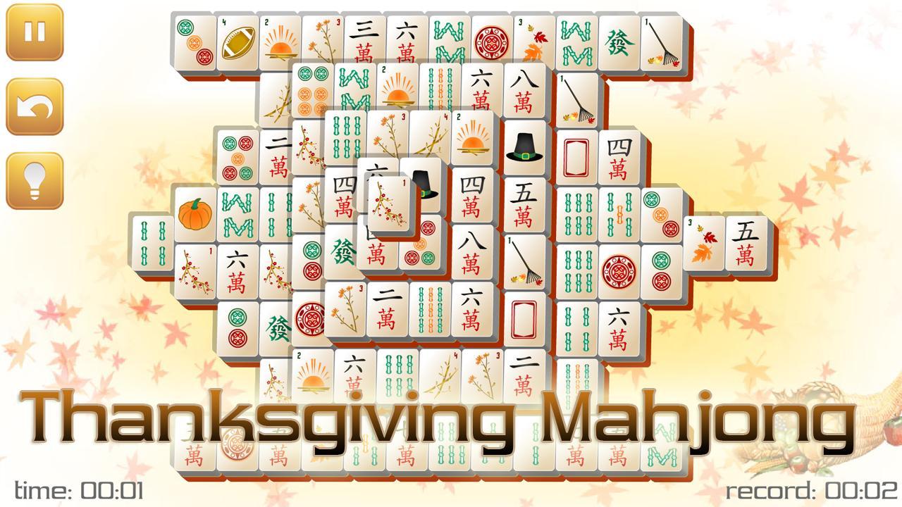 Thanksgiving Mahjong - screenshot