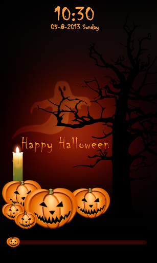 Halloween Pumpkin Go Locker