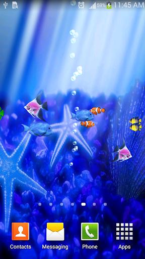 Under Water Aquarium LWP