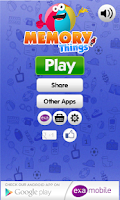 Screenshot of Memory Games Things & Toys