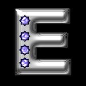 Bling-bling E-monogram