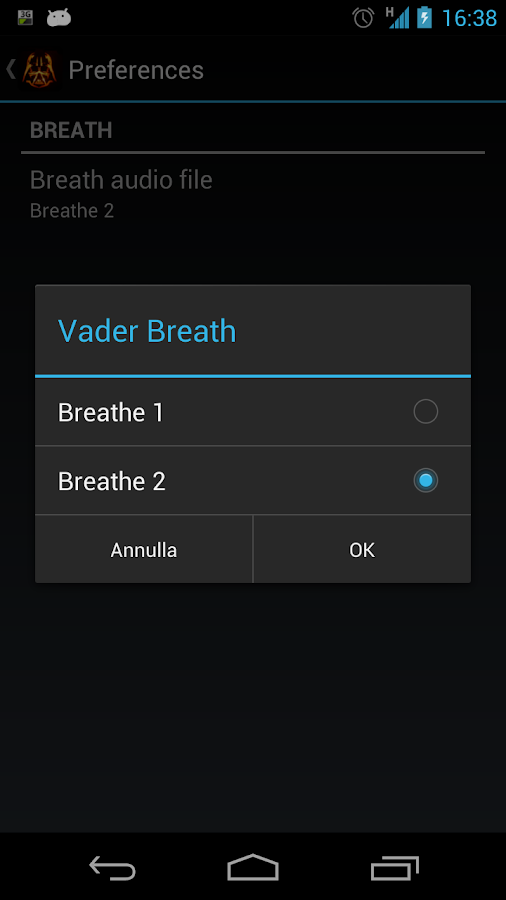 Vader Breath- screenshot
