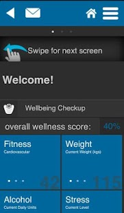 PMF Wellbeing Zone - screenshot thumbnail