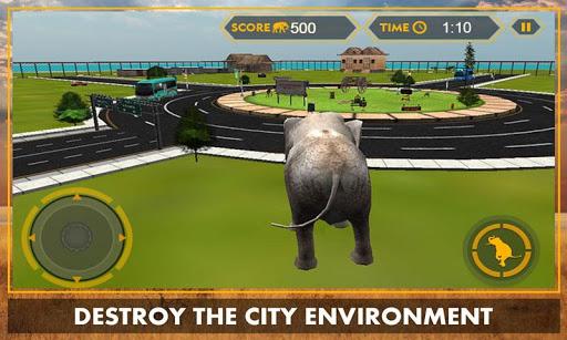 코끼리 시뮬레이터 3D 사파리