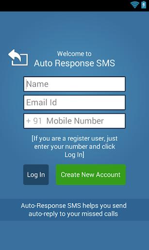 Auto-Response SMS