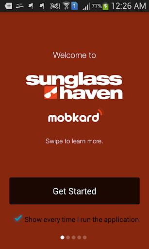 Sunglass Haven MobKard