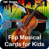 Musical Flip Cards  for Kids.