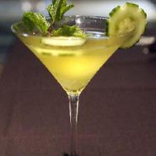Cucumber Martini.