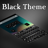 Keyboard Black Theme Free