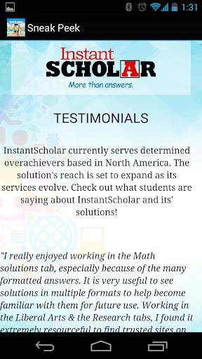 Instant Scholar