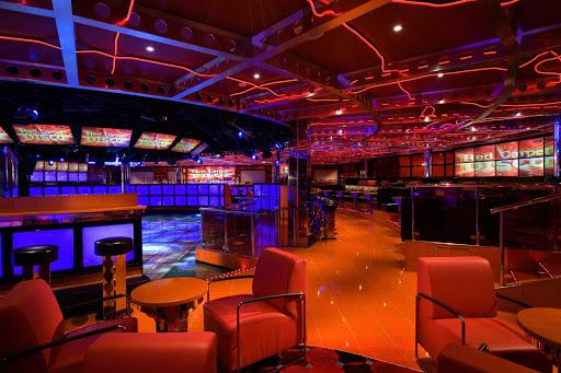 Carnival-Splendor-Red-Carpet-Disco - The Red Carpet Disco aboard Carnival Splendor.