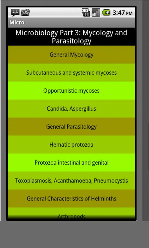 Micologia y Parasitologia- screenshot