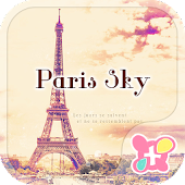 icon & wallpaper-Paris sky-
