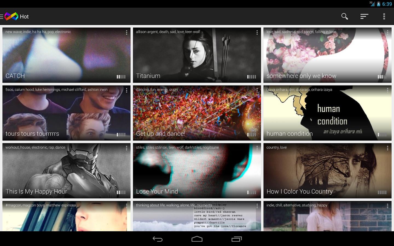 InfiniTracks - screenshot