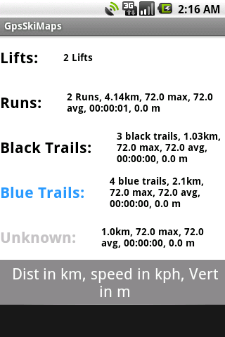 Gps Ski App Europe: 1 Country - screenshot