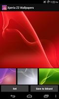 Screenshot of Wallpapers (X,Z,2,3,4)