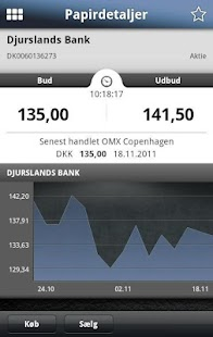 Djurslands Banks MobilBank - screenshot thumbnail