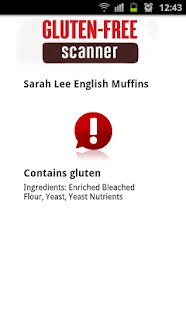The Gluten Free Scanner · PRO - screenshot thumbnail