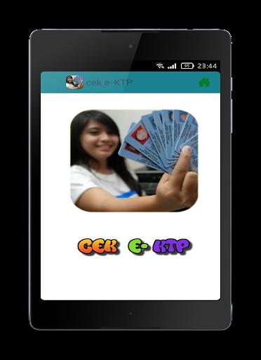 【免費個人化App】Cek e-KTP-APP點子