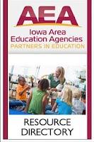 Screenshot of Iowa AEA Directory