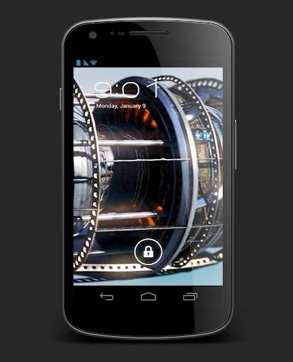 Jet Engine Turbine Live WP