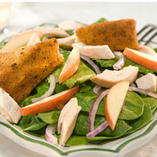 Chicken & Crispy Brie Salad