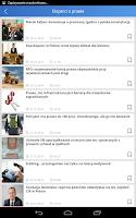 Screenshot of LEX News