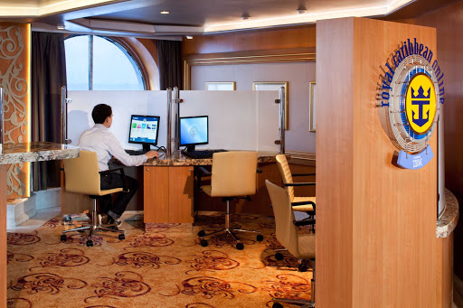 Rhapsody-of-the-Seas-online - With an Internet café open 24/7 and wi-fi from bow to stern, you're never far from the digital world when cruising on Rhapsody of the Seas.