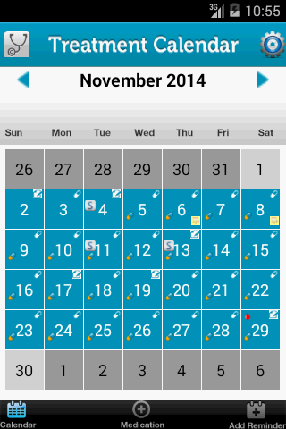 My Fertility Diary - IVF Rx- screenshot