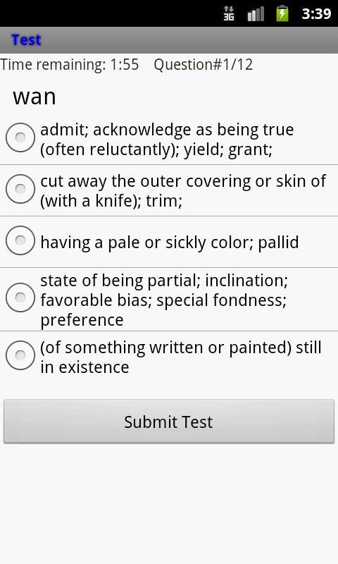 CAT Wordlist- screenshot