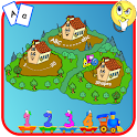Kindergarten islands icon